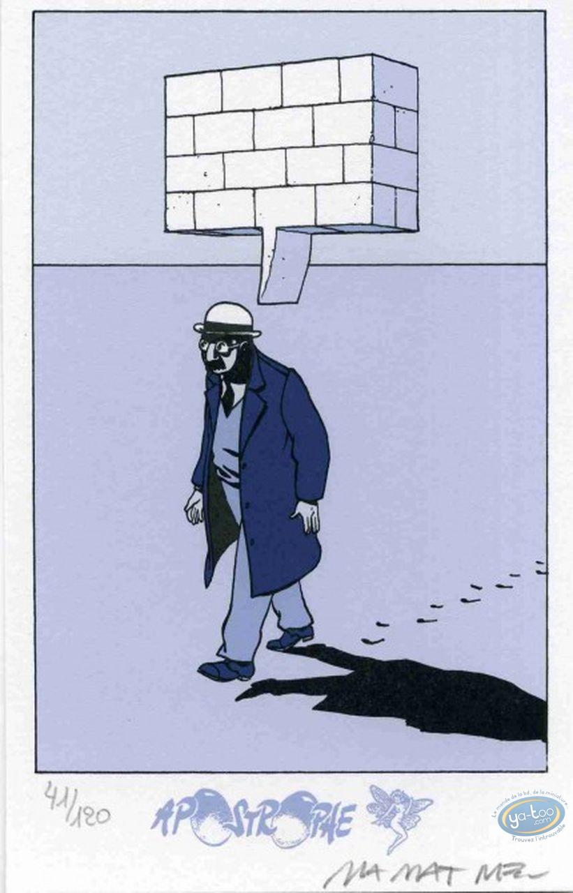 Bookplate Serigraph, Le dessin