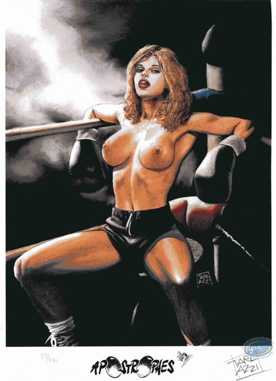 Bookplate Offset, Selen : Boxing Girl