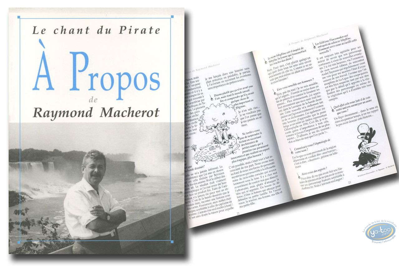 Monography, Macherot : A propos de Raymond Macherot