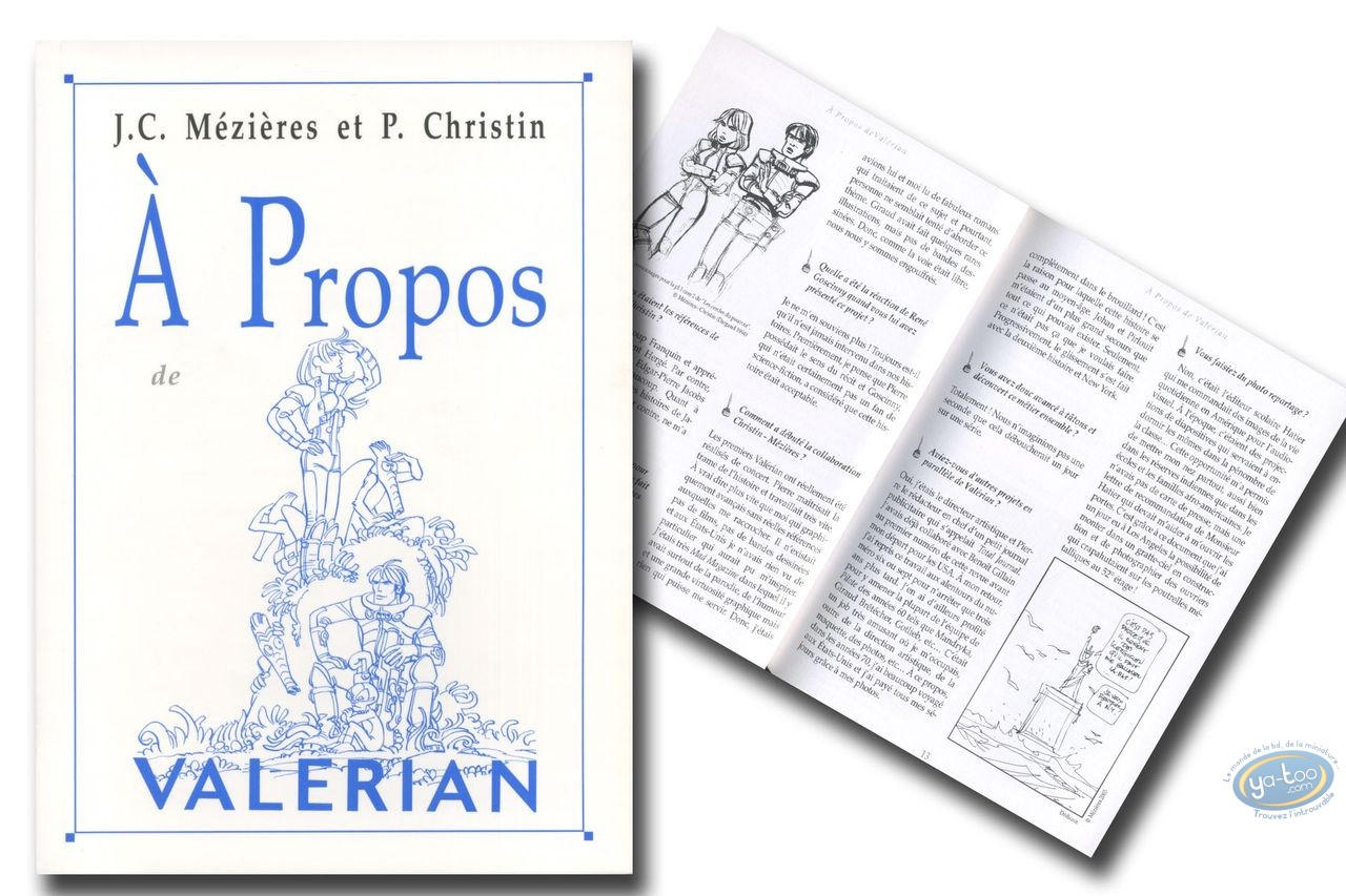 Monography, Valérian : A propos de Valerian
