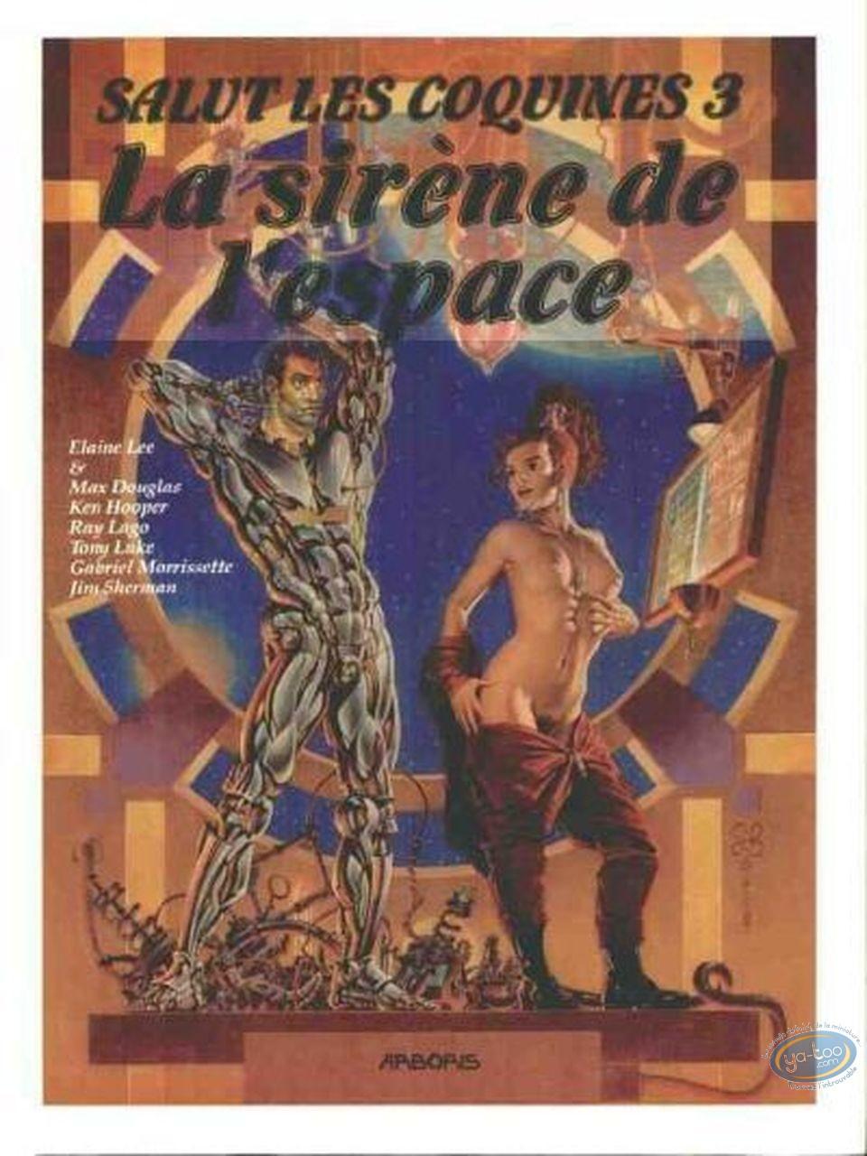 Adult European Comic Books, Salut les coquines : La sirène de l'espace - Salut les coquines