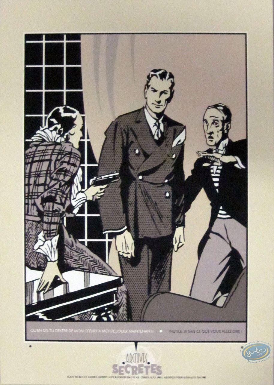 Serigraph Print, Jungle Jim : Secret Agent X-9