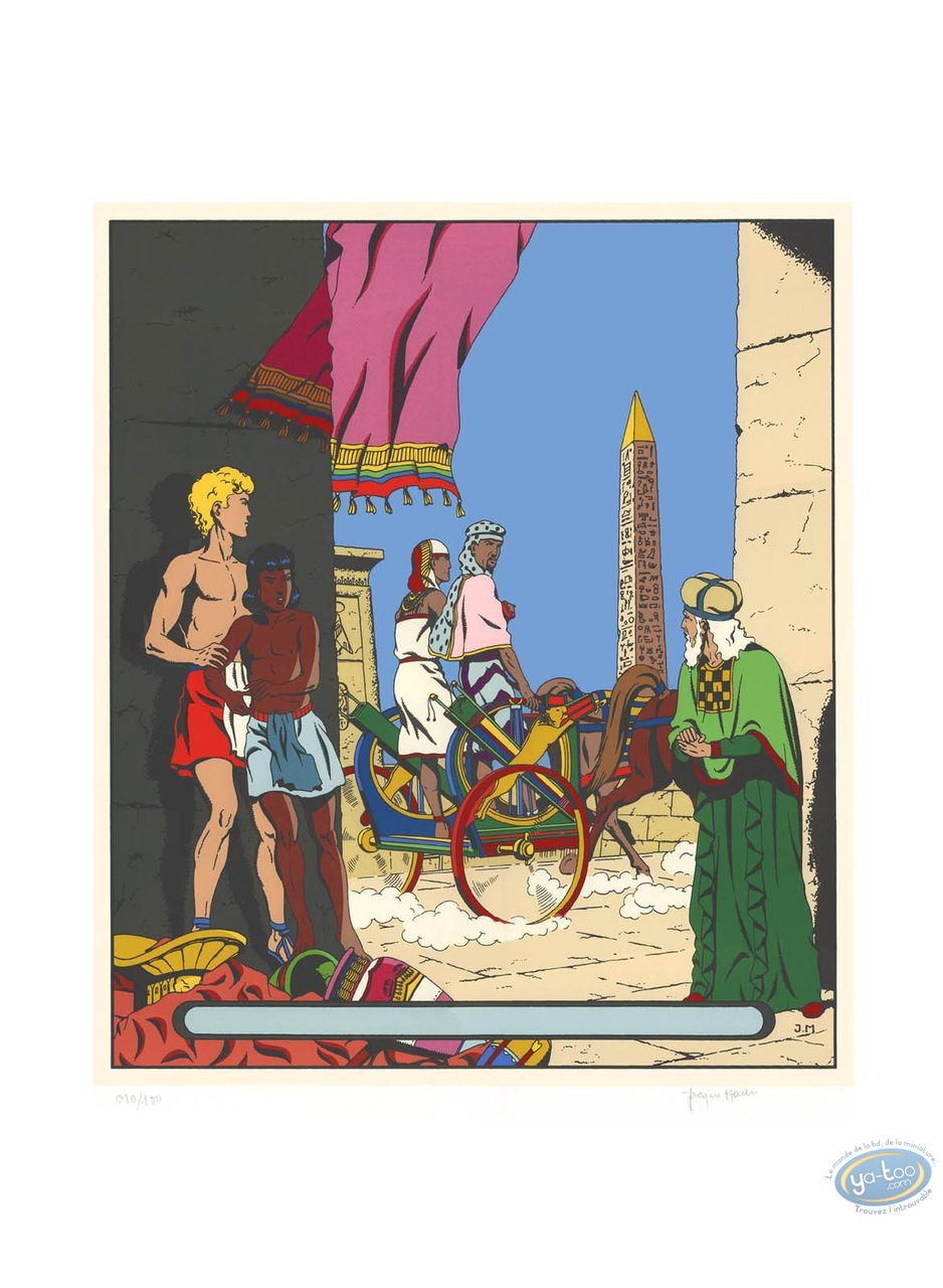 Serigraph Print, Alix : The Golden Sphinx