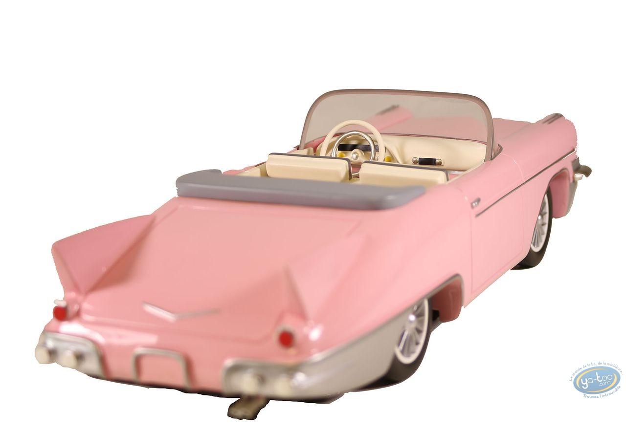 European comic strip vehicle, Aroutcheff Michel : Cadillac Eldorado 1955 (rose)