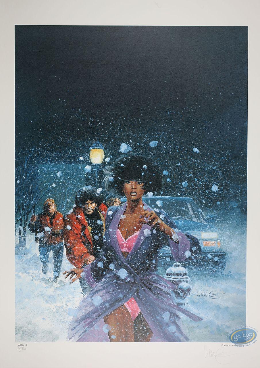 Offset Print, XIII : Jones in the falling snow