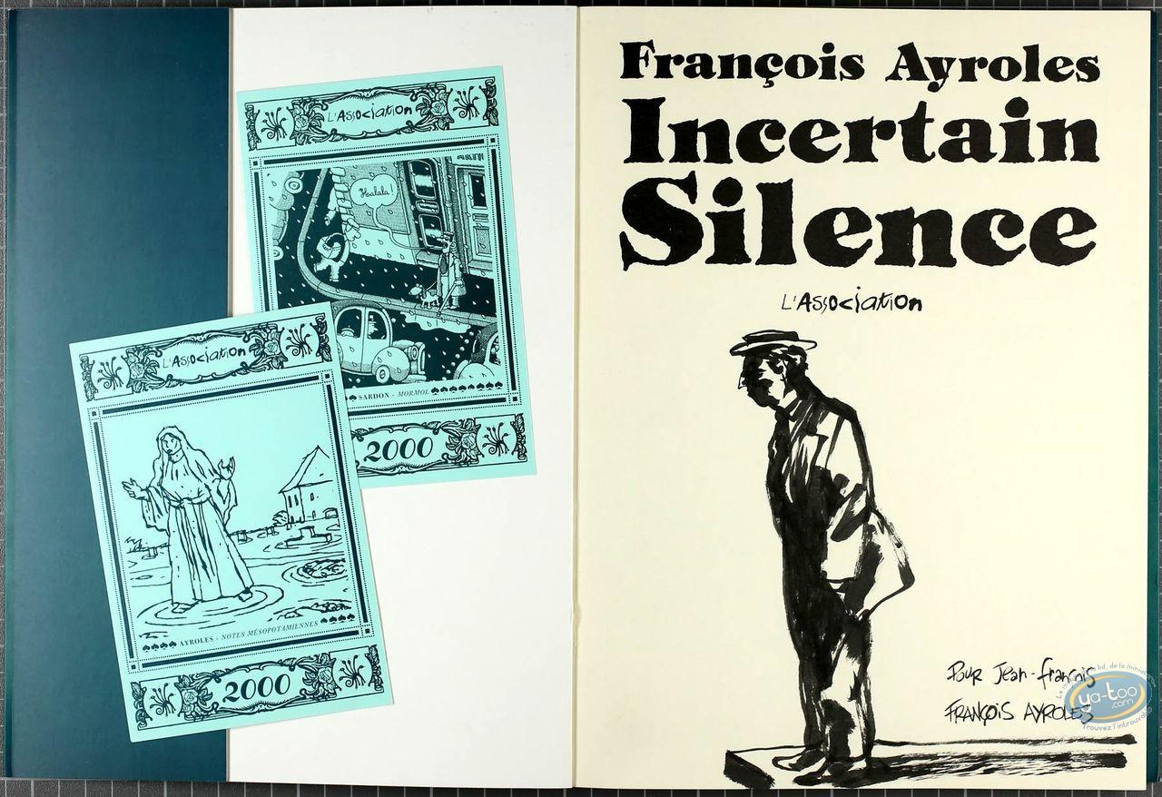 Listed European Comic Books, Incertain Silence : Incertain Silence