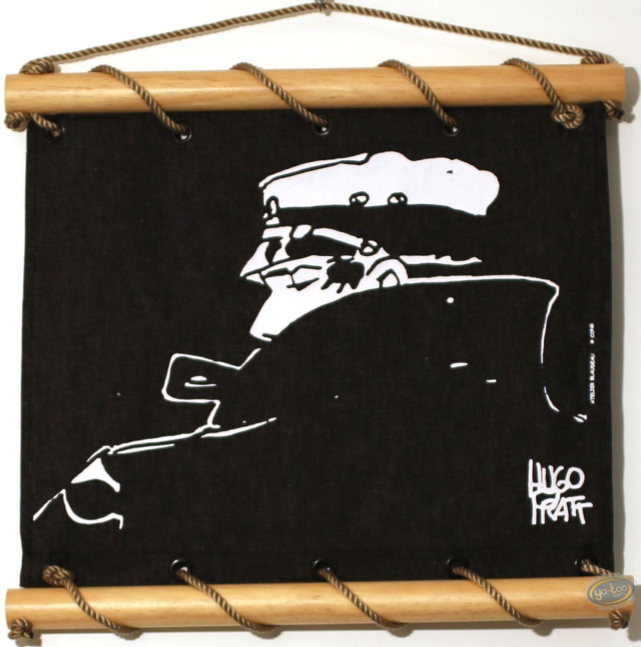 Serigraph Print, Corto Maltese : Nocturnal 60X60