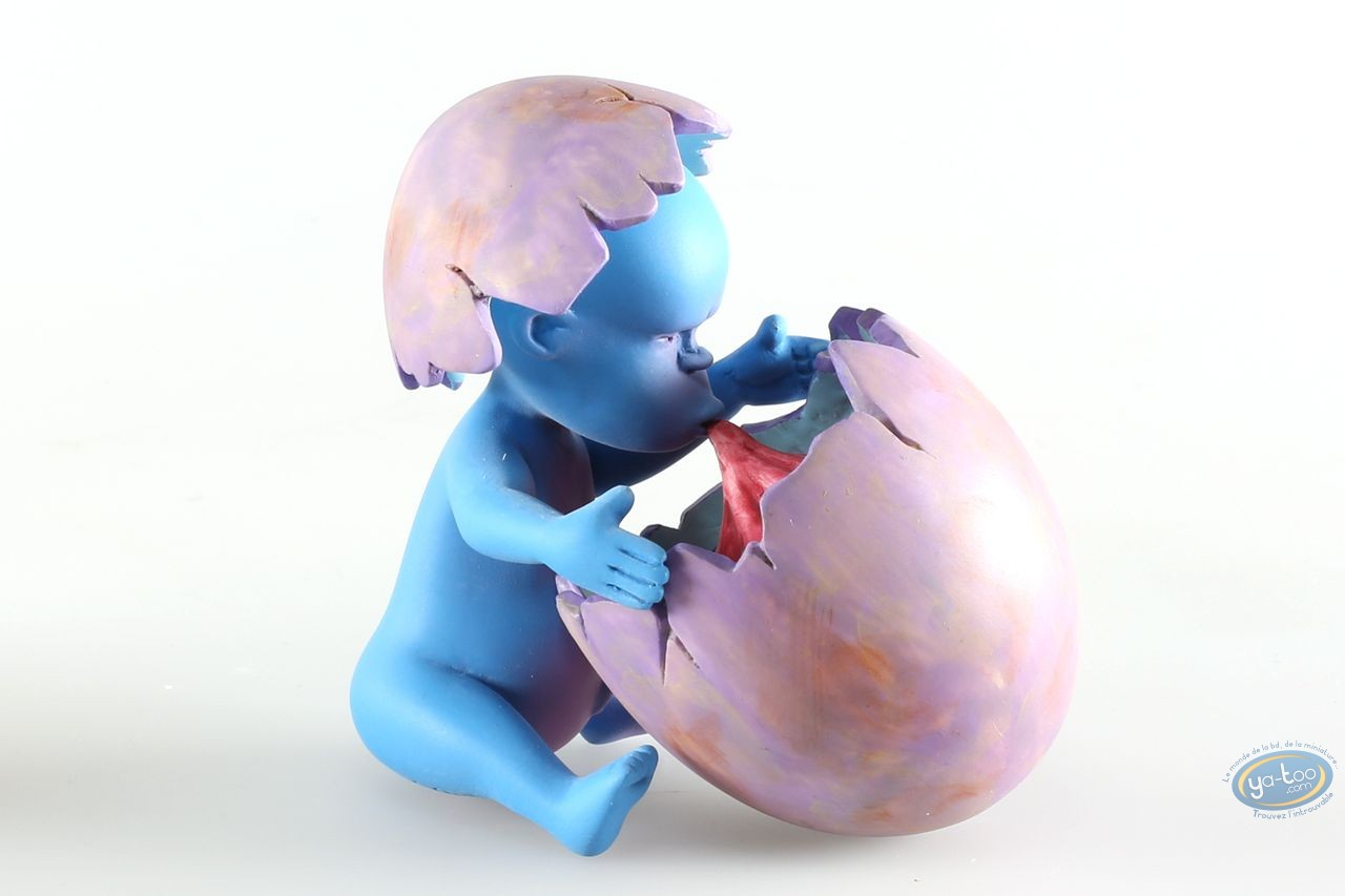 Resin Statuette, Adiboo : Adiboo bleu