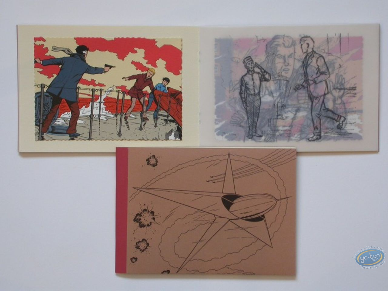 Sketchbook, Lefranc : Images Captives