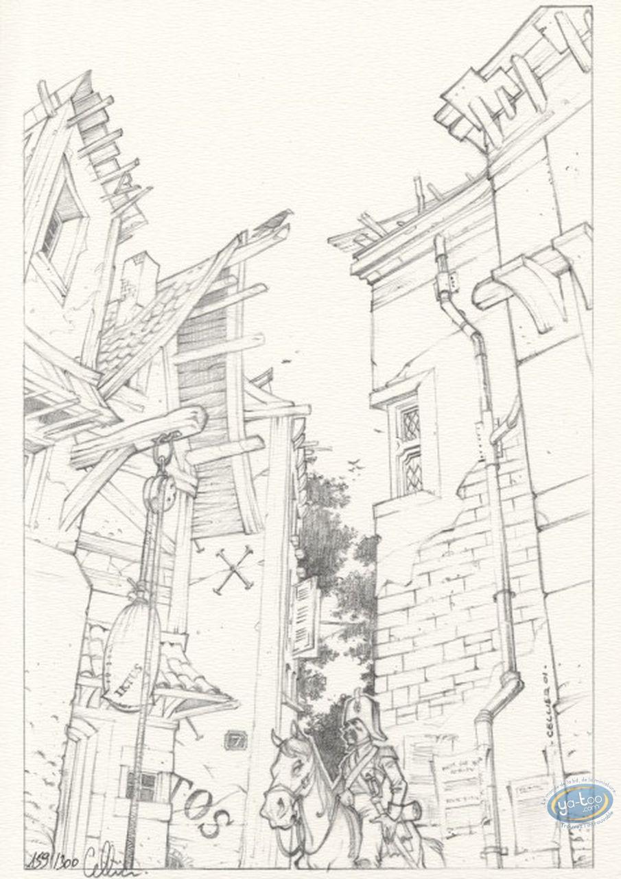 Bookplate Offset, Maître du Hasard (Le) : The street