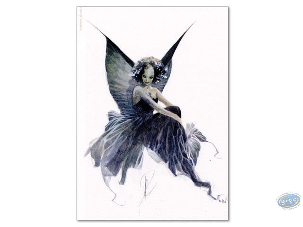 Bookplate Offset, Féerie : Black Fairy