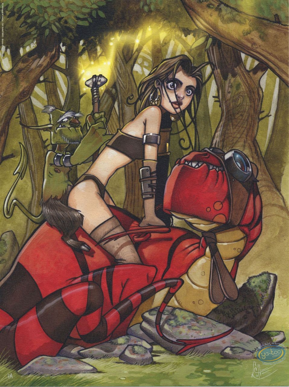 Offset Print, Robin Hood : Loche, Robin Hood