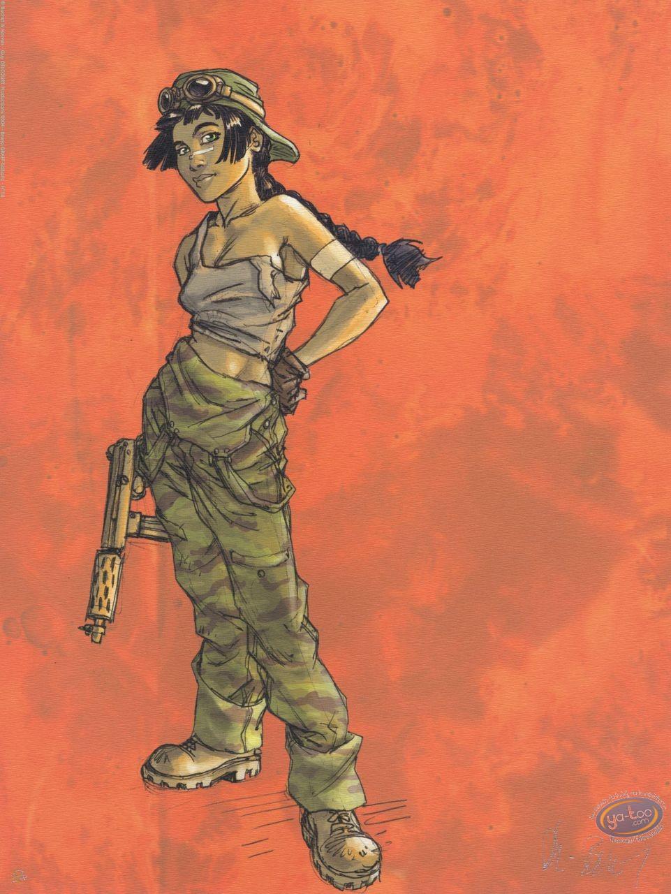 Offset Print, Sillage : mercenary