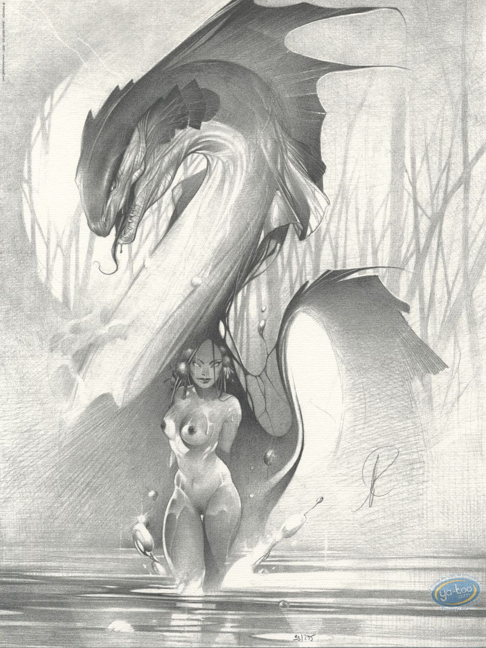 Offset Print, Water dragon