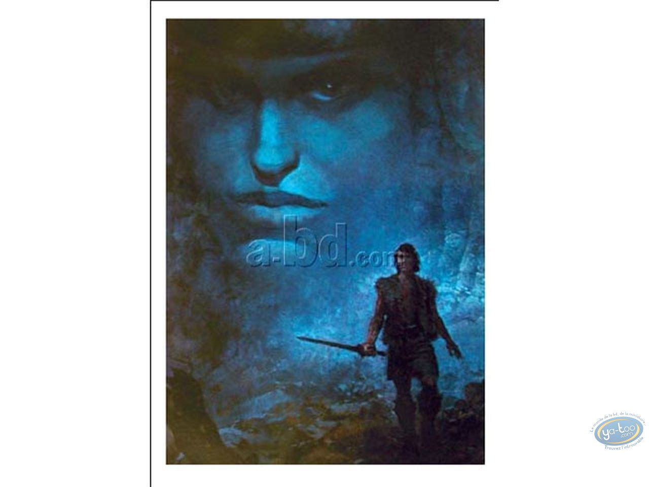 Offset Print, Thorgal : Blue Face in the Clouds