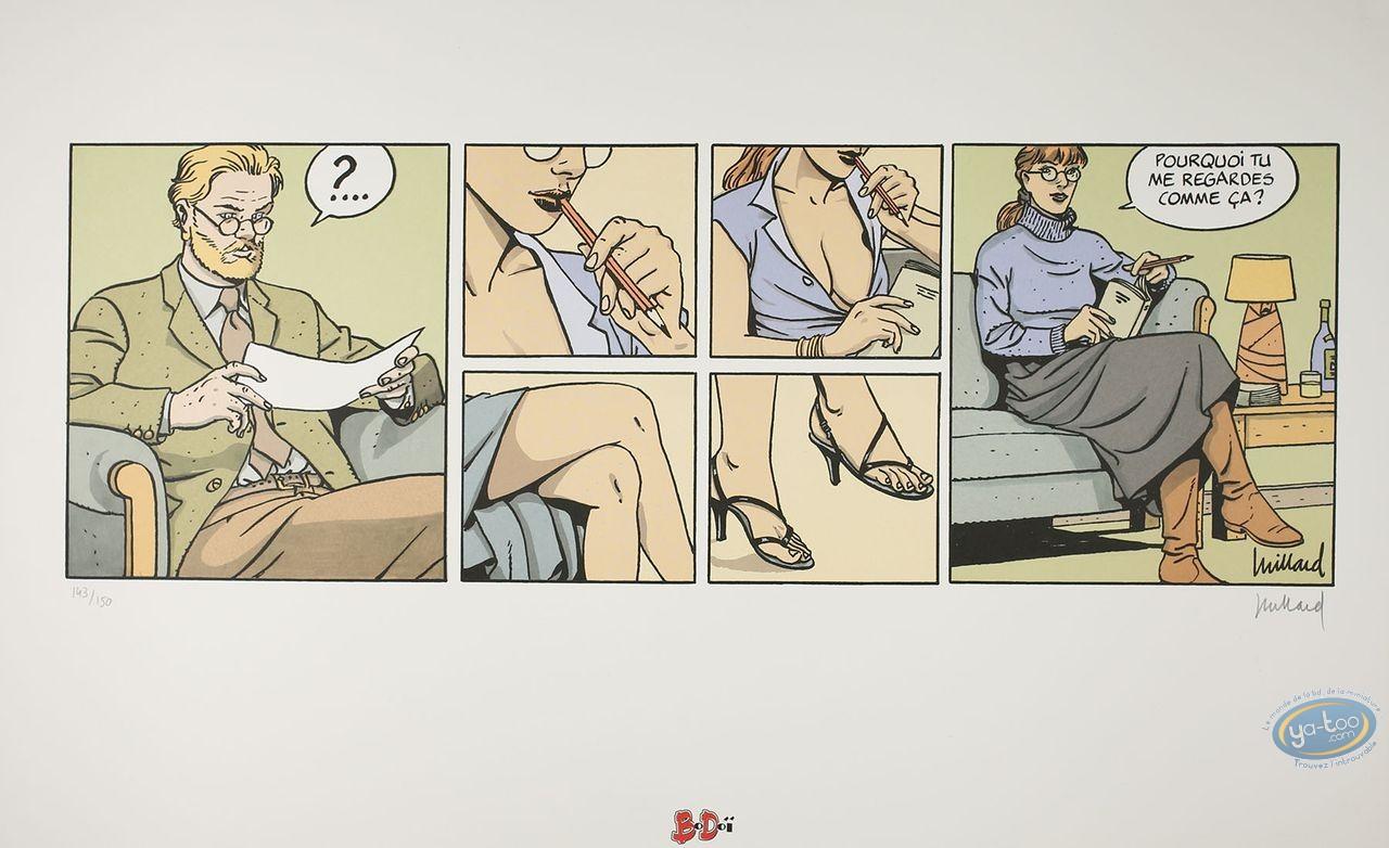 Offset Print, Cahier Bleu (Le) : Strip