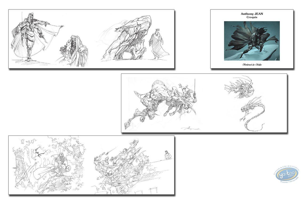 Sketchbook, Licorne (La) : Anthony Jean