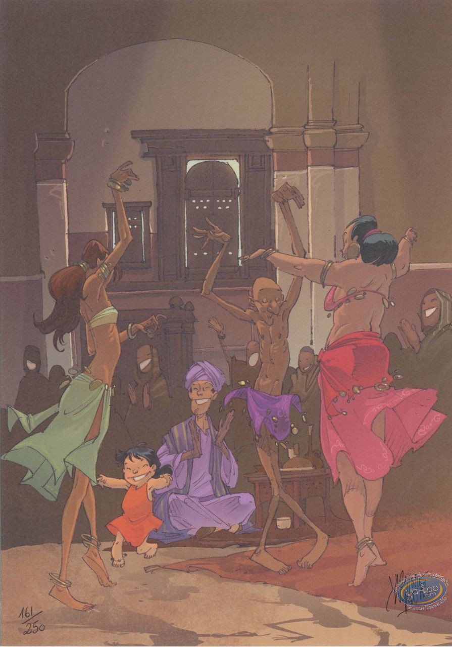 Bookplate Offset, Alim the Tanner : The dance