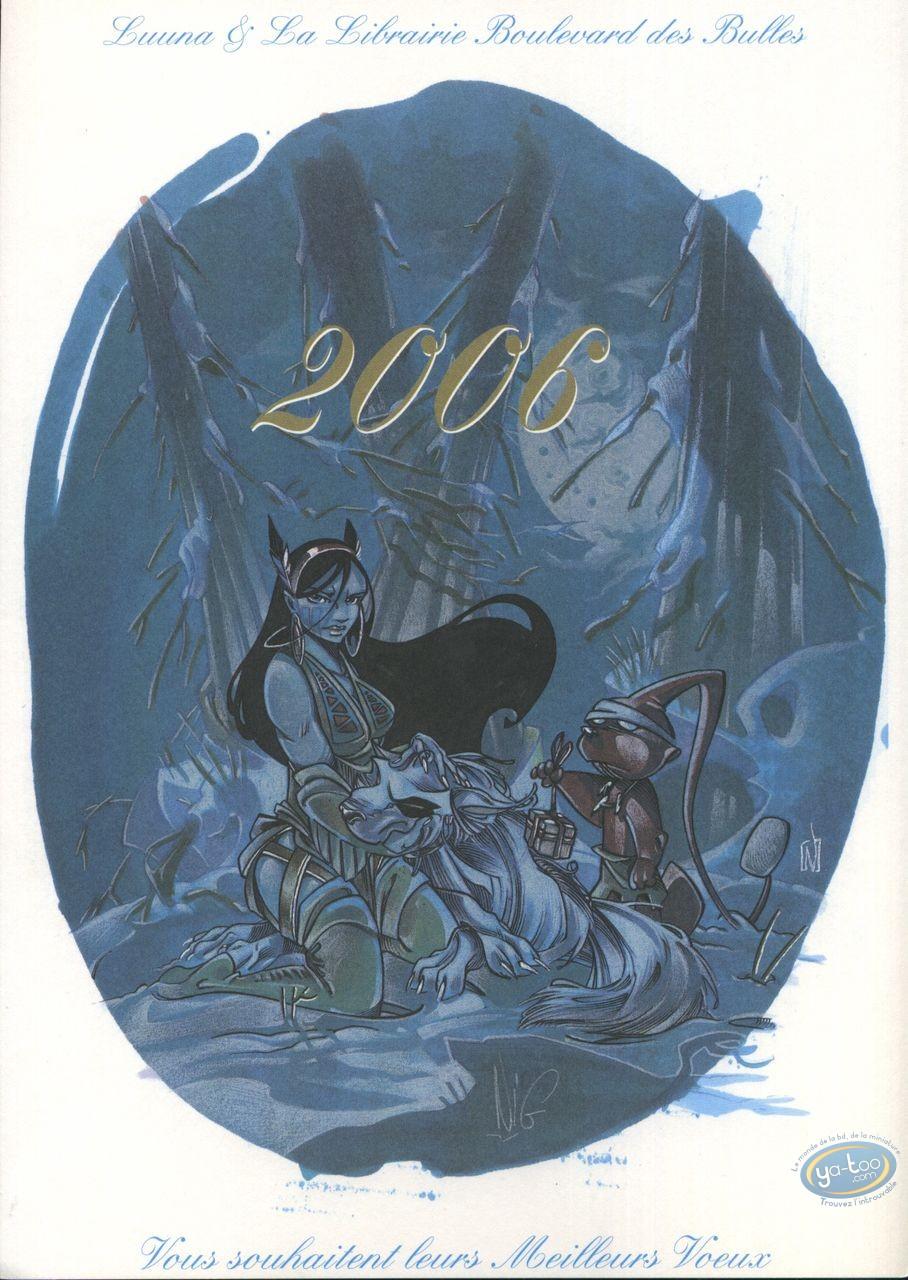 Bookplate Offset, Luuna : 2006