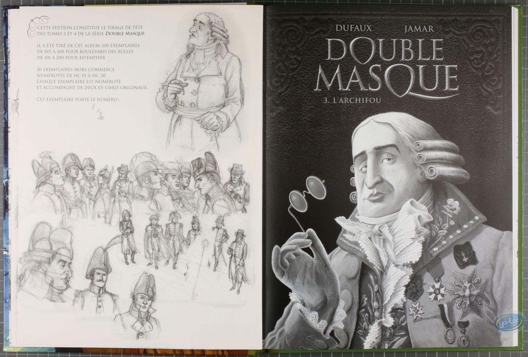Limited First Edition, Double Masque : L'archifou - Les deux sauterelles