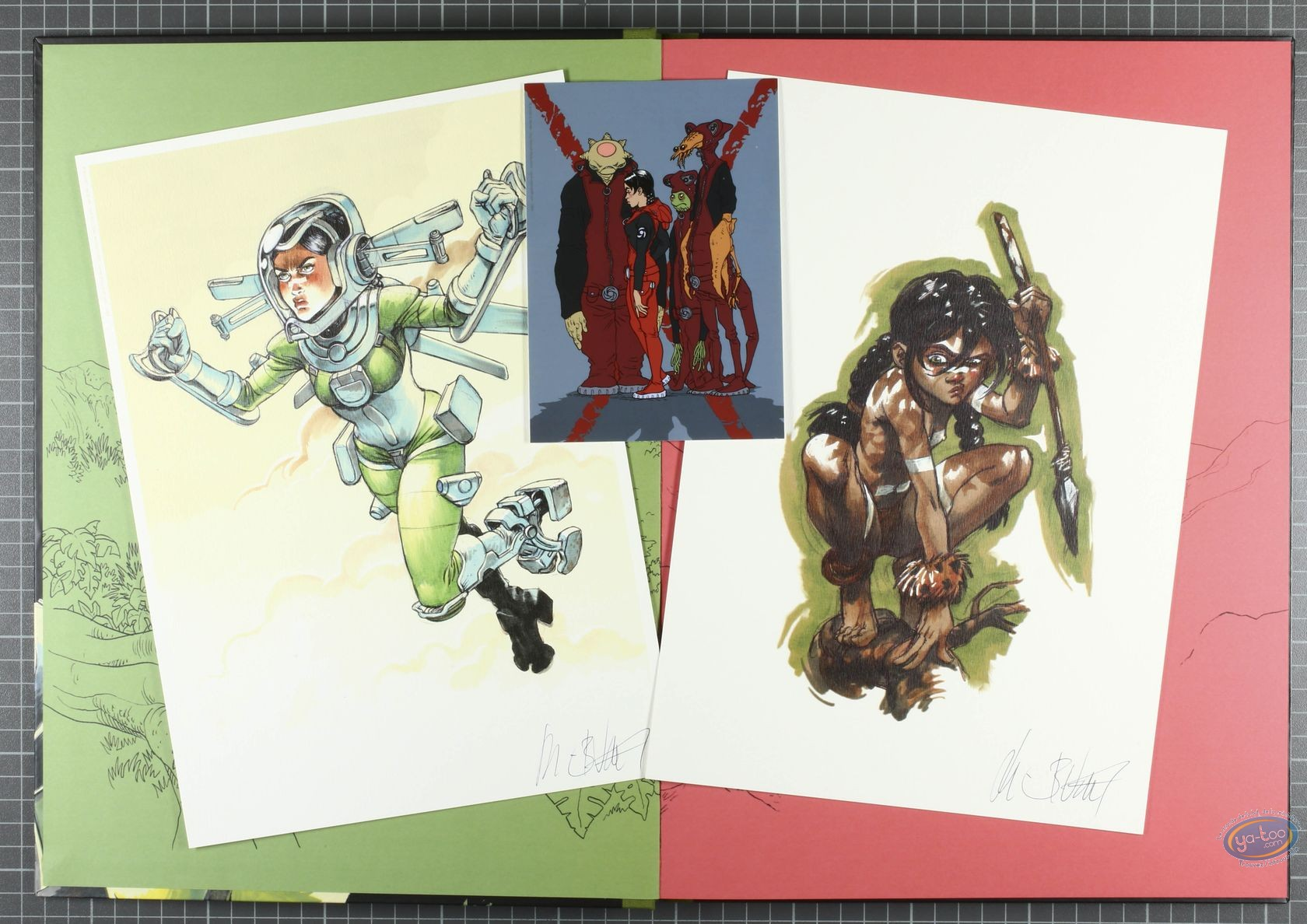 Limited First Edition, Sillage : Retour de flammes (special / green)