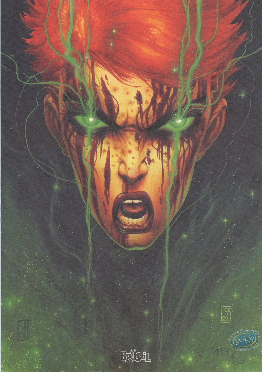 Bookplate Offset, Sha : Face screaming