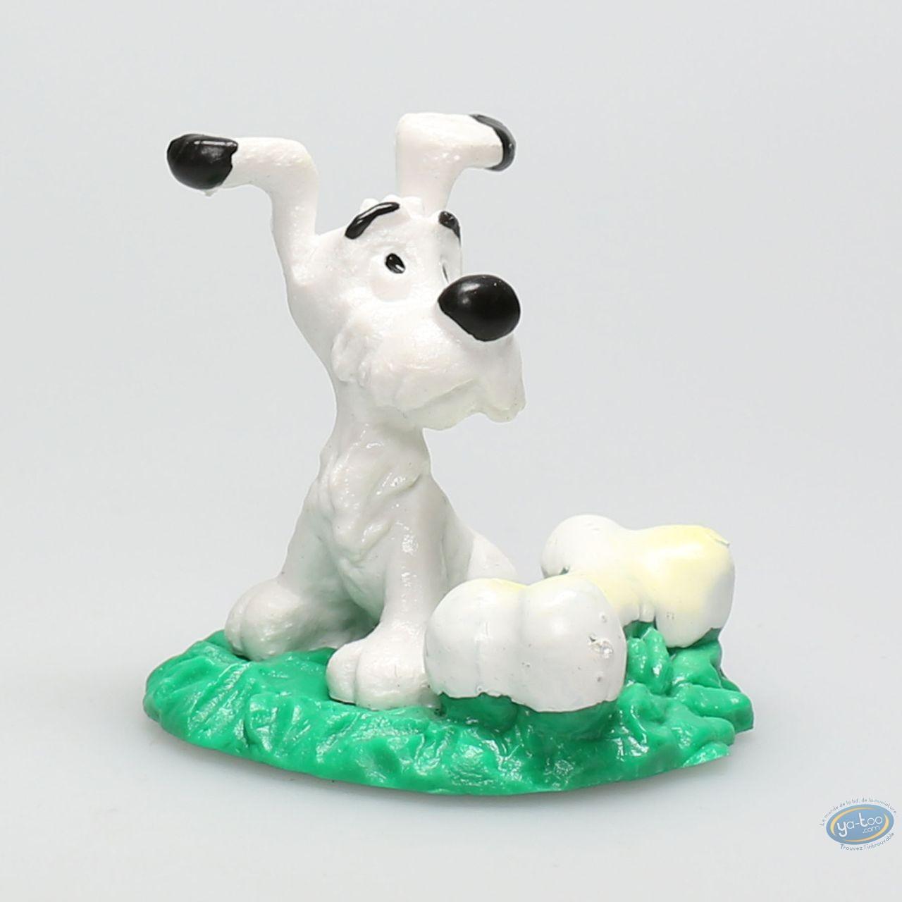 Plastic Figurine, Astérix : Dogmatix sitting with his bone