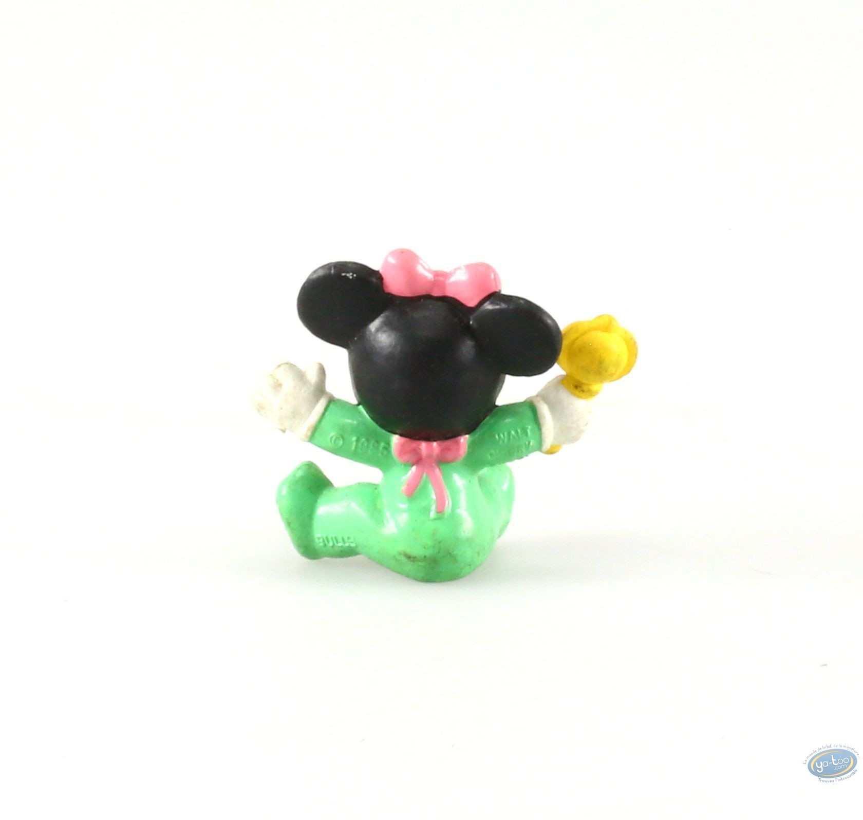 Buy online Plastic Figurine - Mickey Mouse - Baby Minnie with his ...