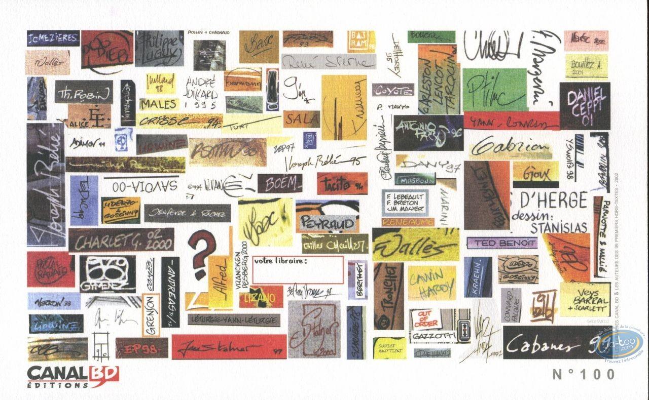 Bookplate Offset, Signatures