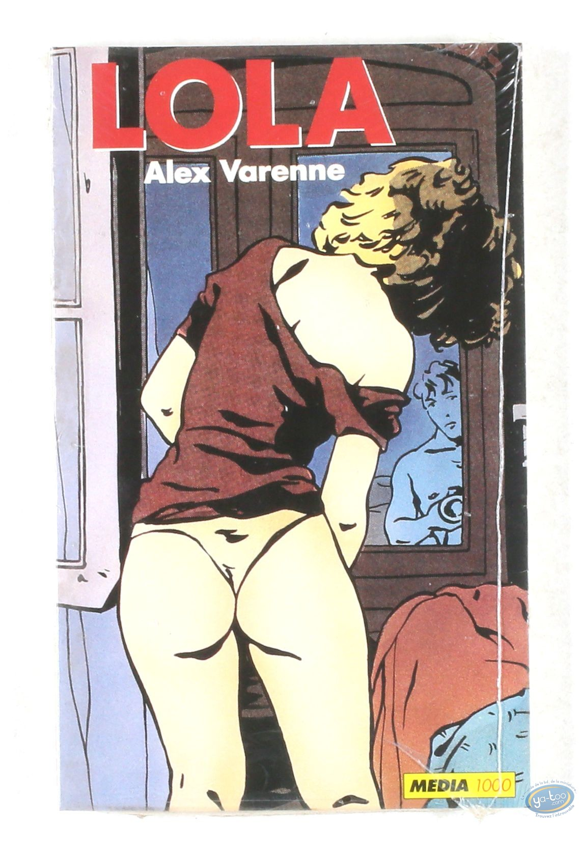 Adult comic catalog