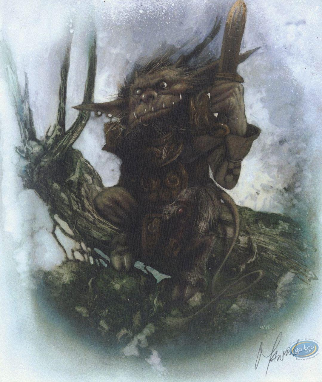 Bookplate Offset, Graine de Folie (La) : Gnome