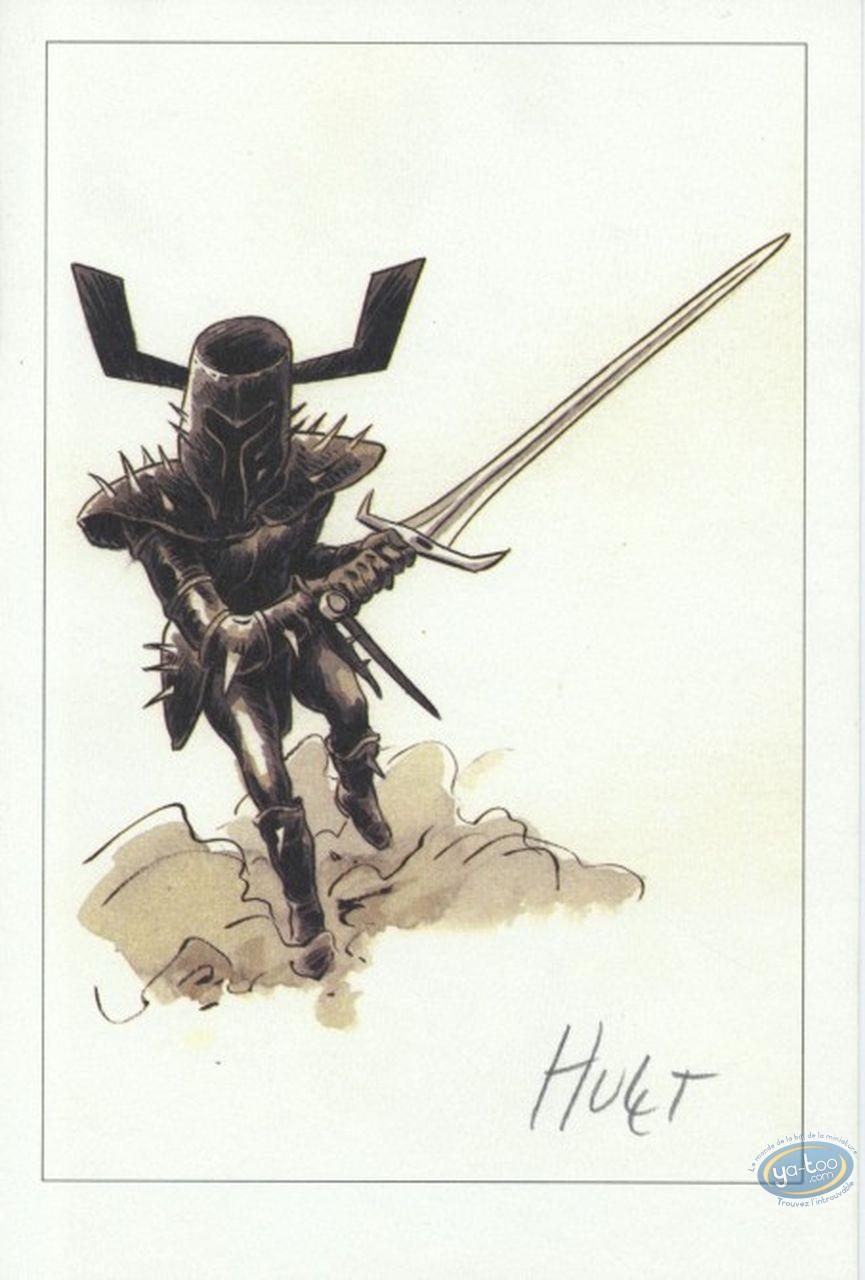 Bookplate Offset, Extra-Muros : Black Knight