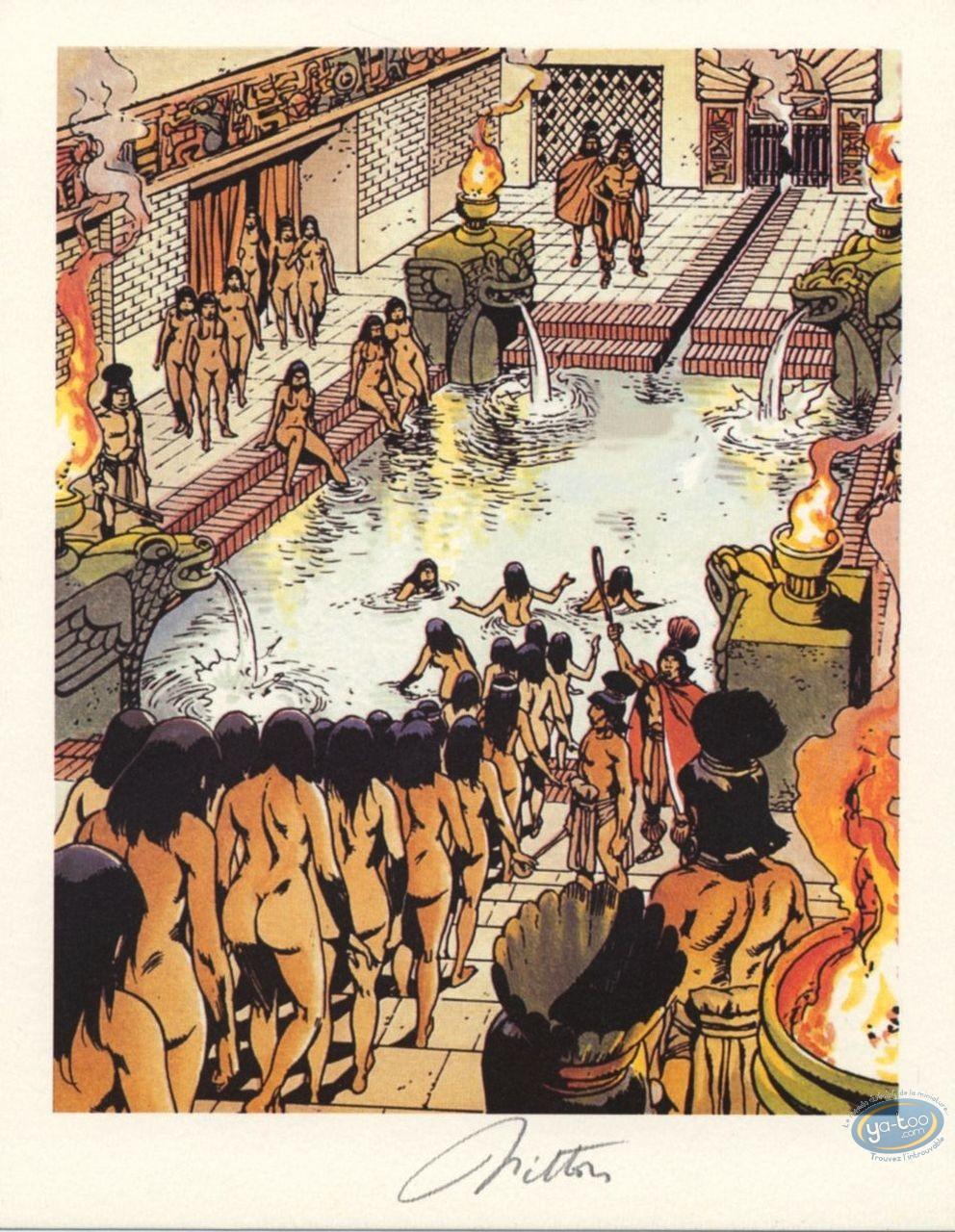 Bookplate Offset, Quetzacoatl : The Bath