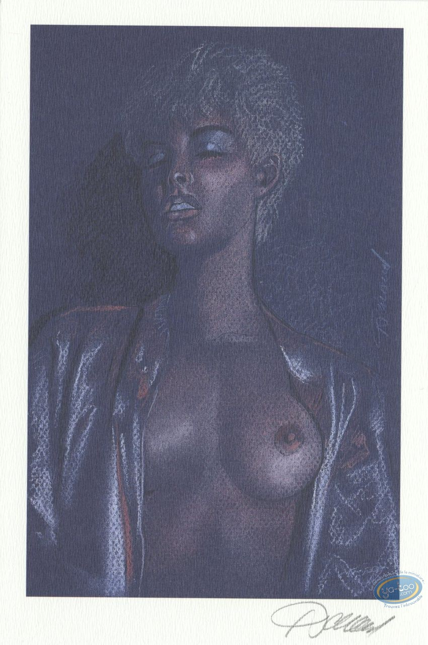 Bookplate Offset, Jessica Blandy : Solitary Pleasure (face)