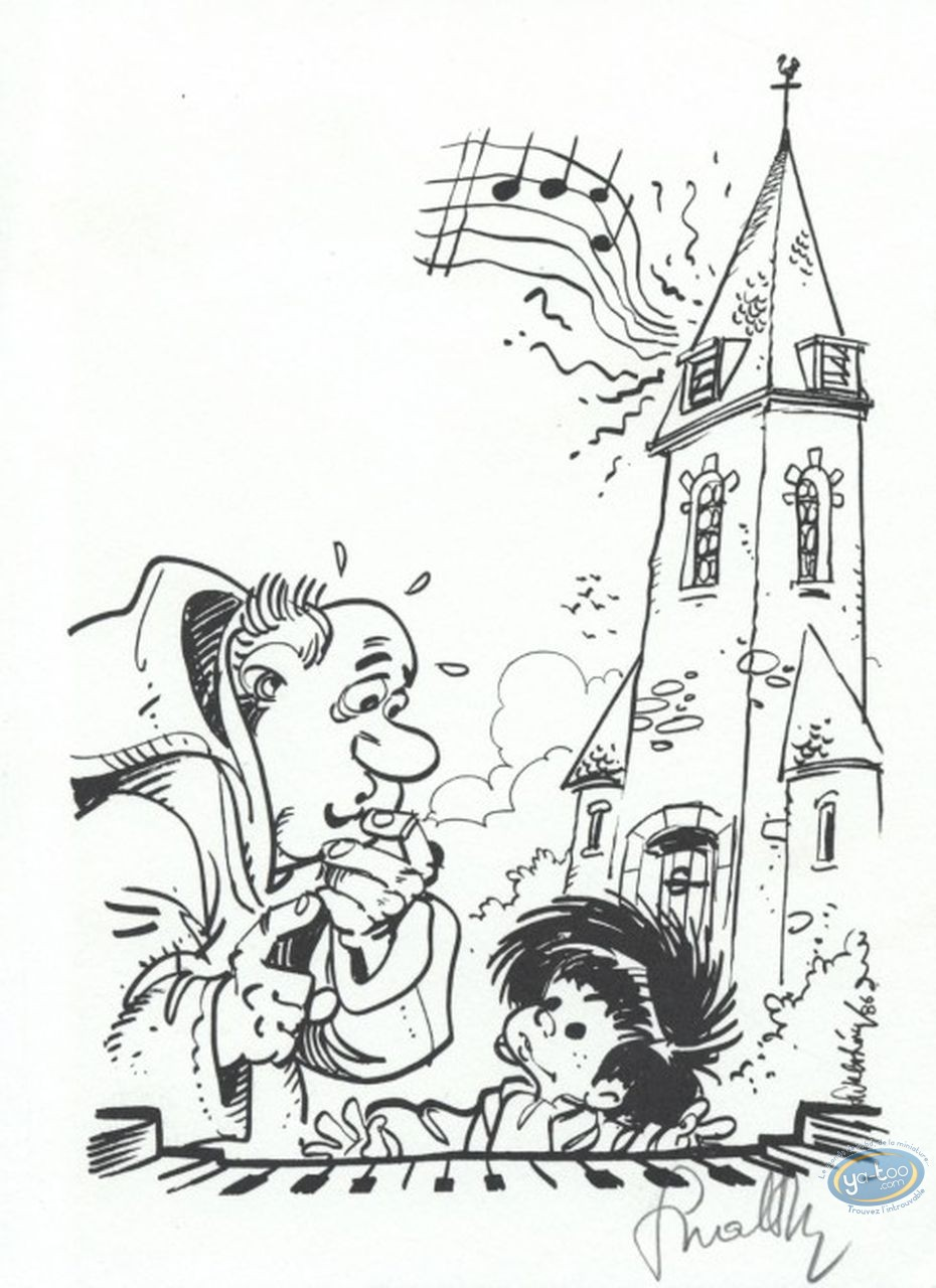 Bookplate Offset, P'tit Bout de Chique (Le) : le P'tit Bout de Chique & the Priest