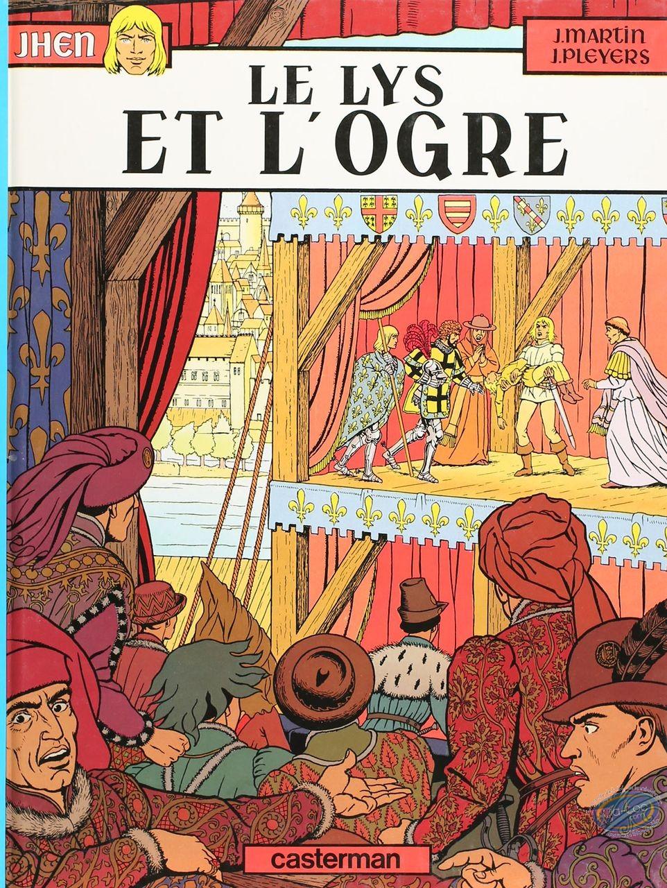 Listed European Comic Books, Jhen : Le lys et l'ogre