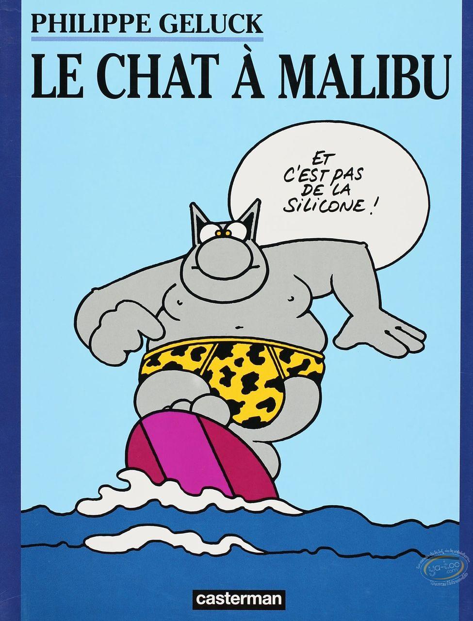 Listed European Comic Books, Cat (Le) : Le Chat a Malibu
