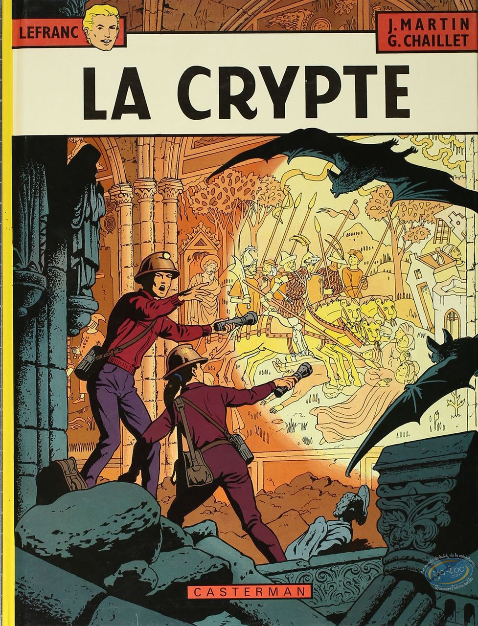Listed European Comic Books, Lefranc : La Crypte