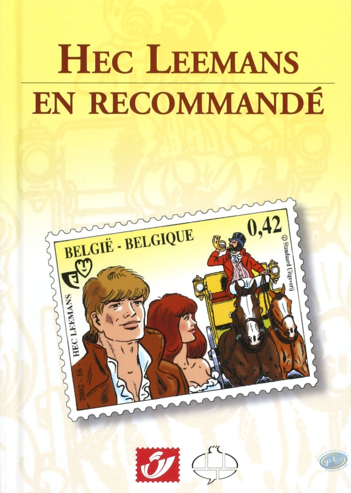 Reduced price European comic books, Hec Leemans, En recommandé