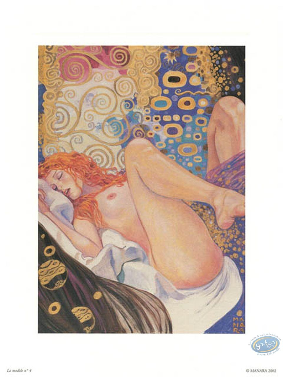 Offset Print, Manara : The Model N°4, Manara