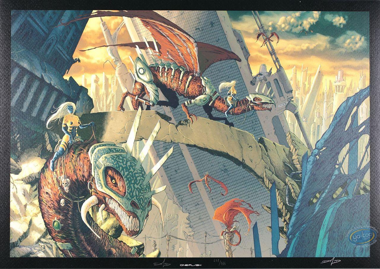 Offset Print, Dragons : Dim D, Dragons