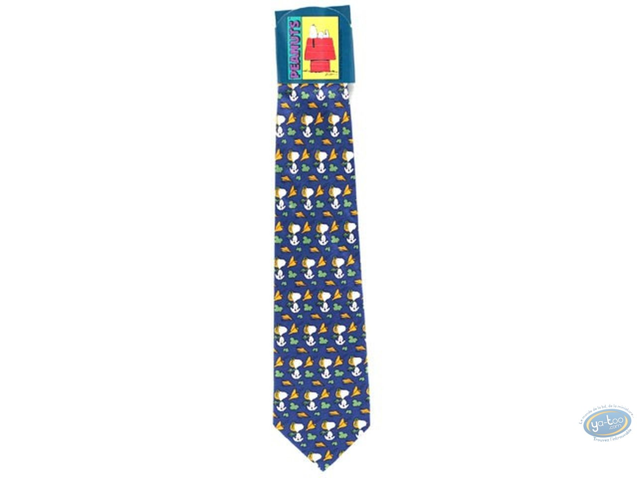Clothes, Snoopy : Snoopy aviator blue tie