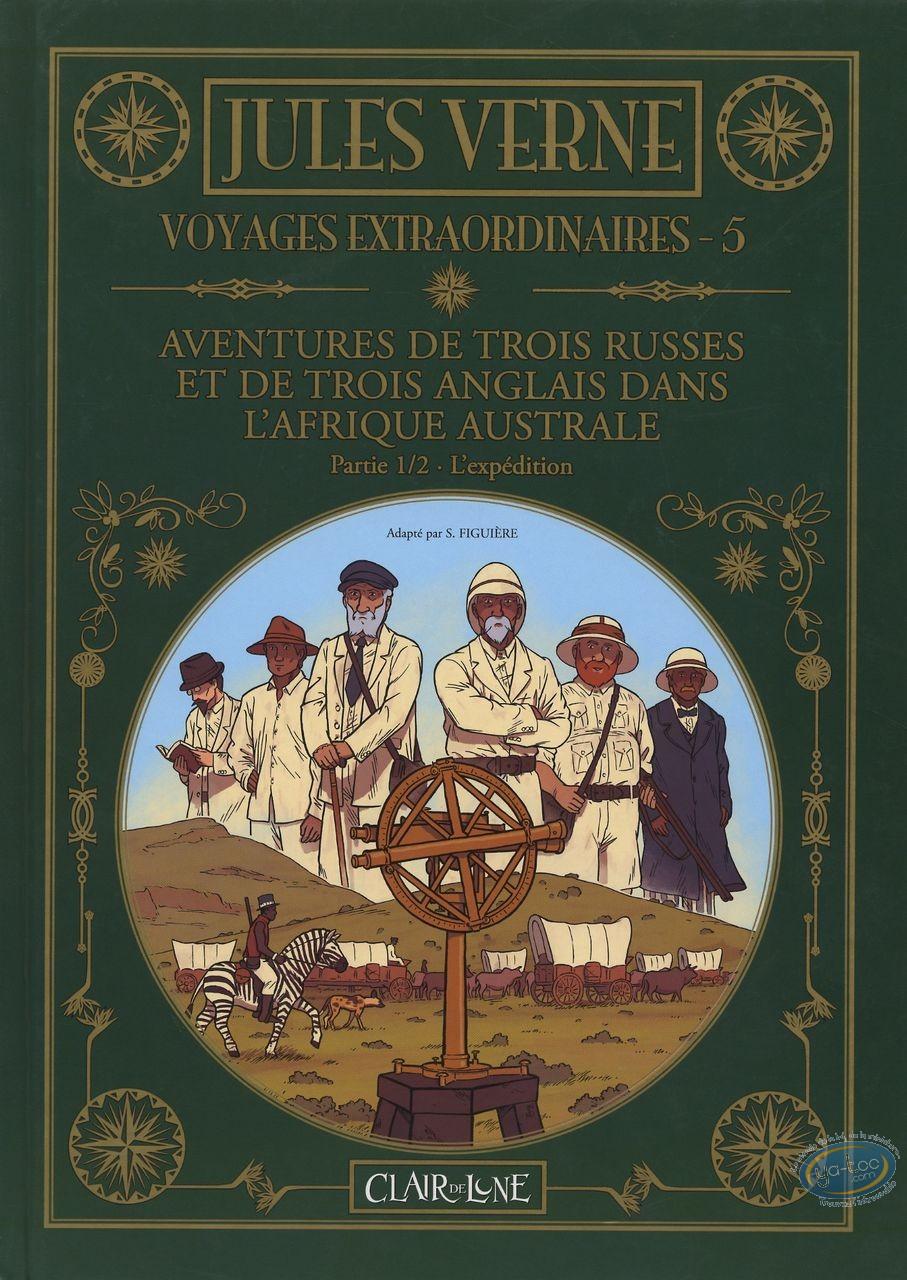 Reduced price European comic books, Voyages Extraordinaires : T5 - Aventures de 3 russes et de 3 Anglais - Partie 1