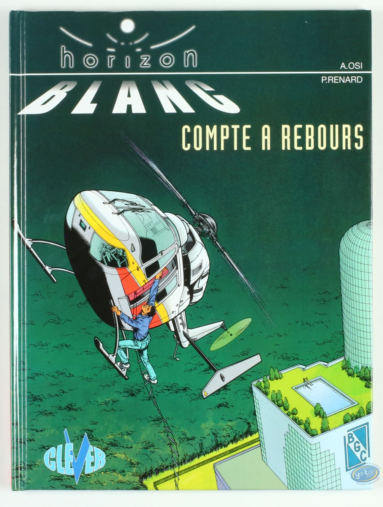 Reduced price European comic books, Horizon Blanc : Compte a rebours