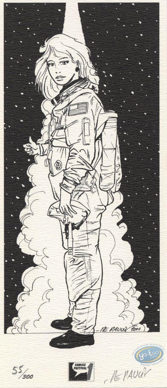 Bookplate Offset, Tania : Astronaut