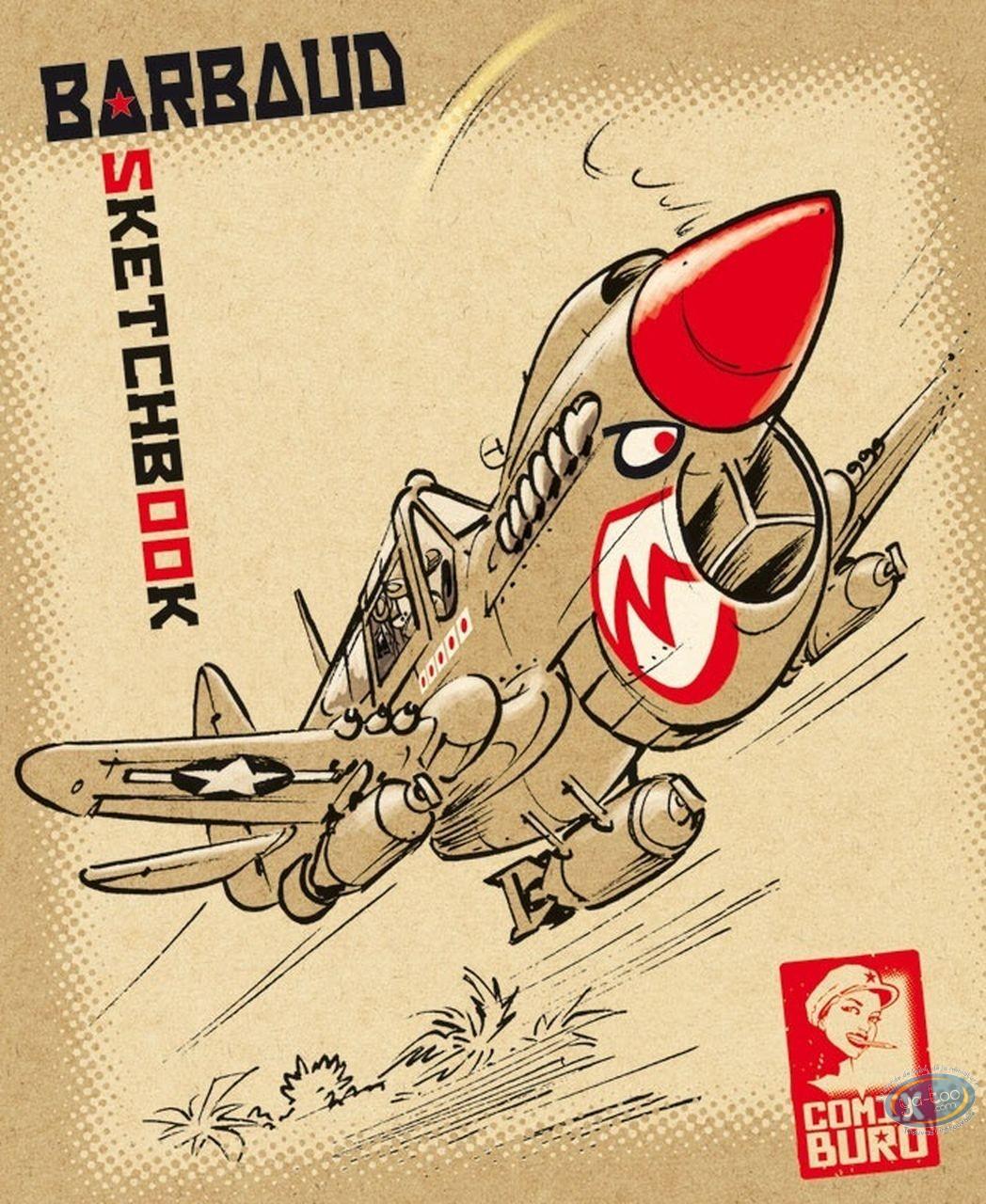 Reduced price European comic books, Sketchbook : Barbaud
