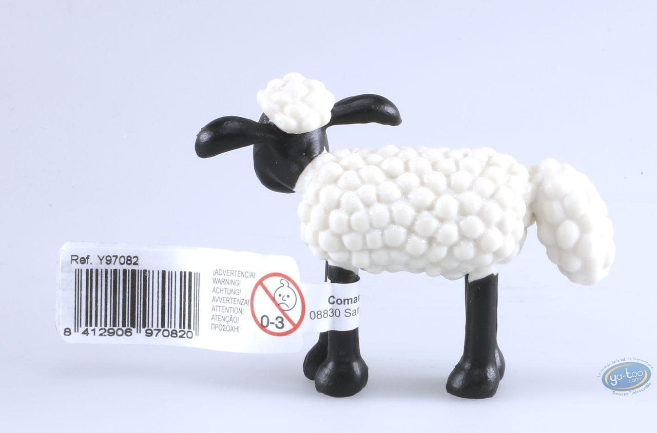 Plastic Figurine, Wallace and Gromit : Shaun - Shaun the sheep