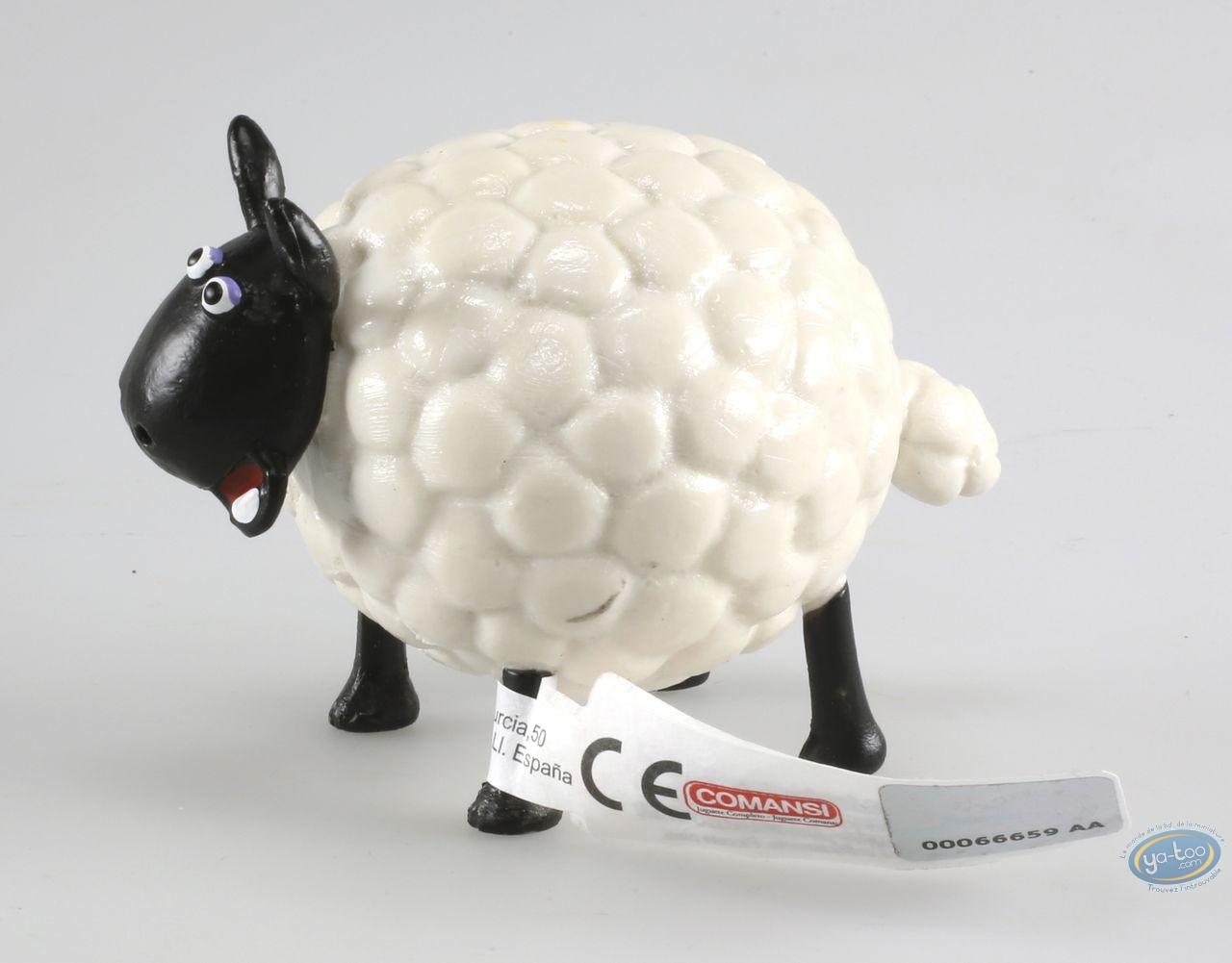 Plastic Figurine, Wallace and Gromit : Shirley - Shaun the sheep
