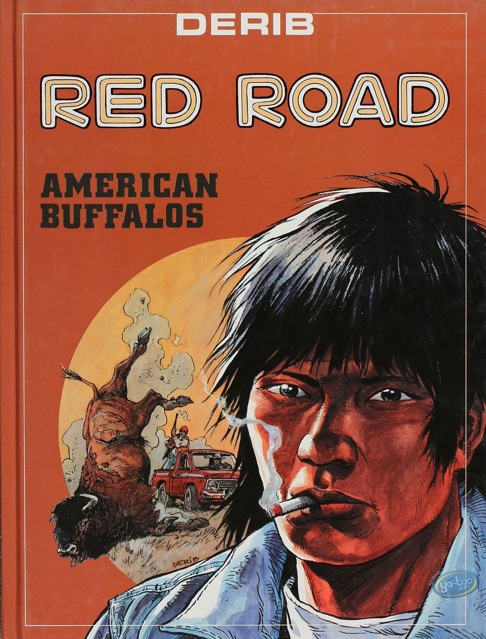 Reduced price European comic books, Red Road : American Buffalos