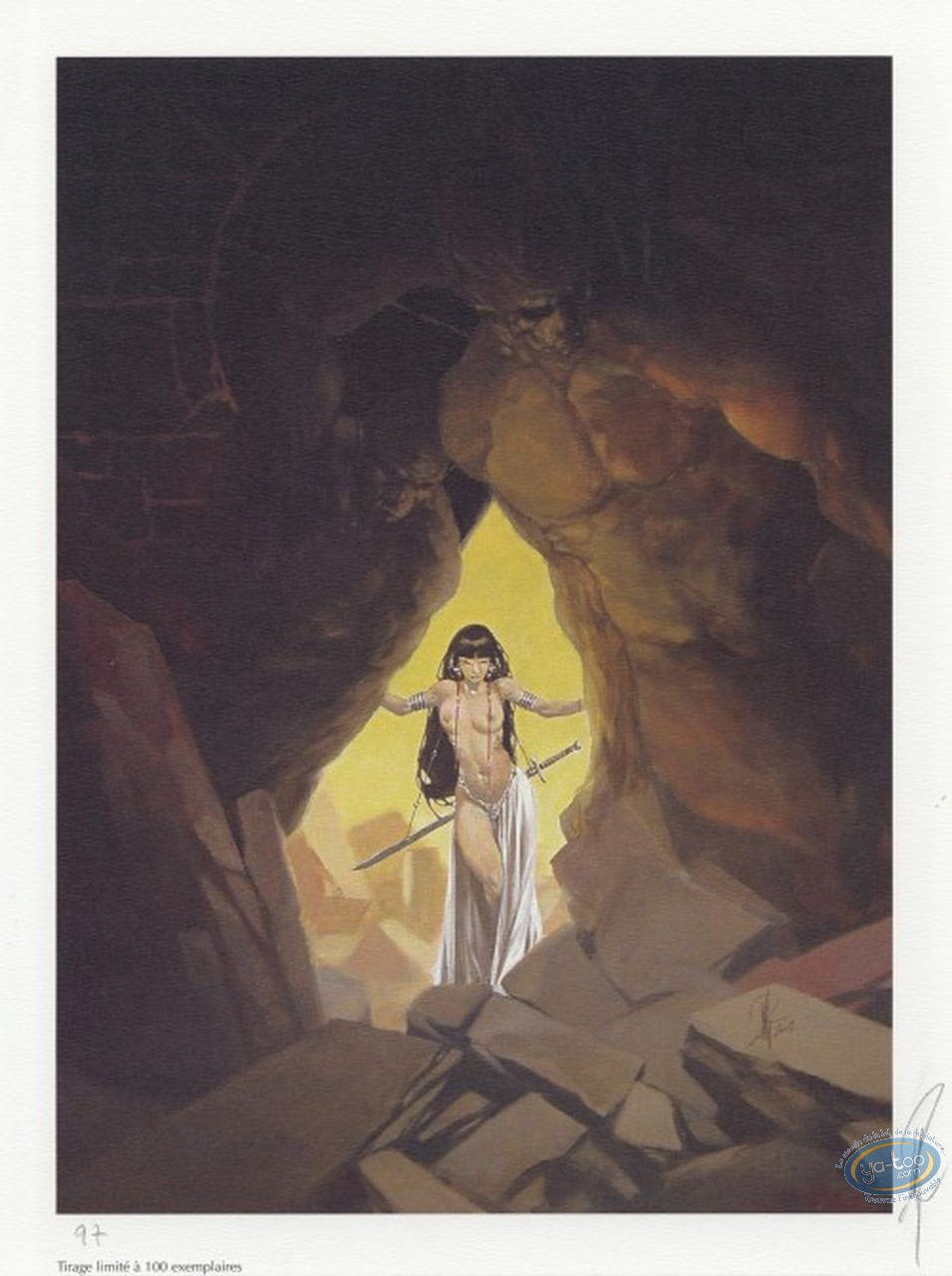 Offset Print, Varanda : The Cave